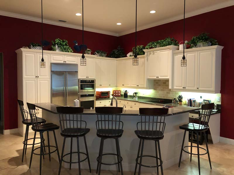 Naples Kitchen Cabinet Painting